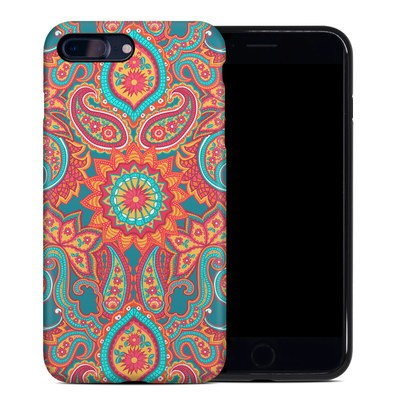 Apple iPhone 7 Plus Hybrid Case - Carnival Paisley