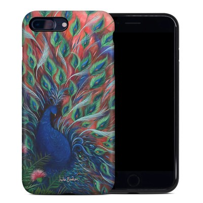 Apple iPhone 7 Plus Hybrid Case - Coral Peacock