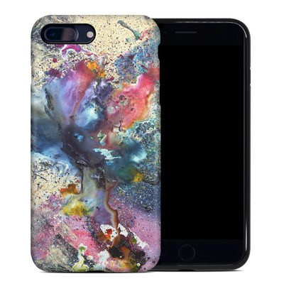 Apple iPhone 7 Plus Hybrid Case - Cosmic Flower