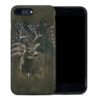 Apple iPhone 7 Plus Hybrid Case - Deer Flag