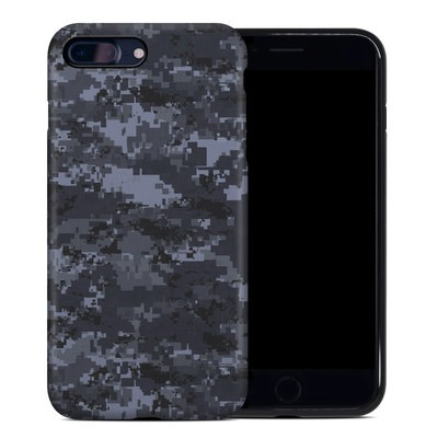 Apple iPhone 7 Plus Hybrid Case - Digital Navy Camo