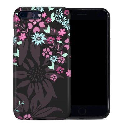 Apple iPhone 7 Plus Hybrid Case - Dark Flowers