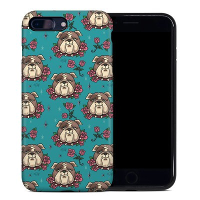 Apple iPhone 7 Plus Hybrid Case - Bulldogs and Roses