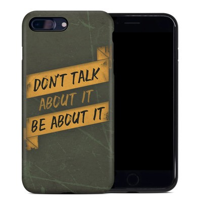 Apple iPhone 7 Plus Hybrid Case - Don't Talk