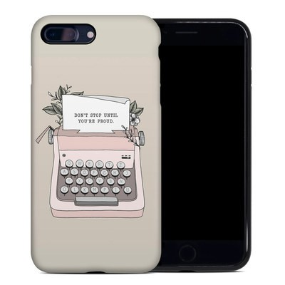 Apple iPhone 7 Plus Hybrid Case - Dont Stop