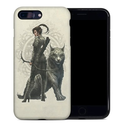 Apple iPhone 7 Plus Hybrid Case - Half Elf Girl