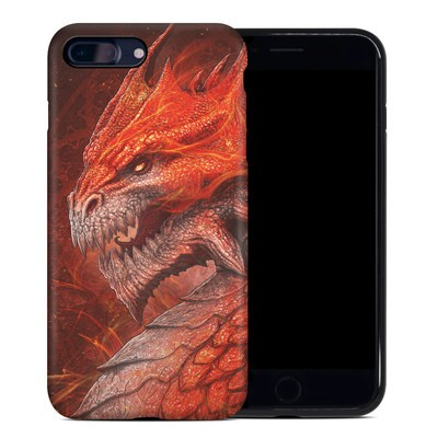 Apple iPhone 7 Plus Hybrid Case - Flame Dragon