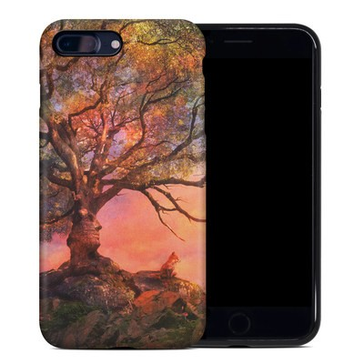 Apple iPhone 7 Plus Hybrid Case - Fox Sunset