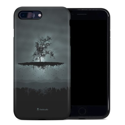 Apple iPhone 7 Plus Hybrid Case - Flying Tree Black