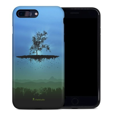 Apple iPhone 7 Plus Hybrid Case - Flying Tree Blue