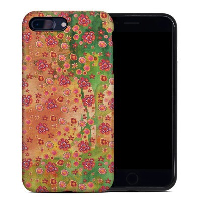 Apple iPhone 7 Plus Hybrid Case - Garden Flowers