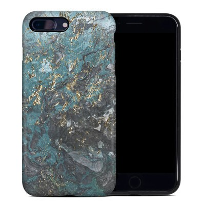 Apple iPhone 7 Plus Hybrid Case - Gilded Glacier Marble