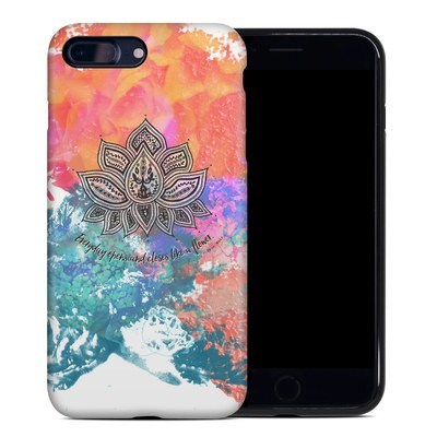 Apple iPhone 7 Plus Hybrid Case - Happy Lotus
