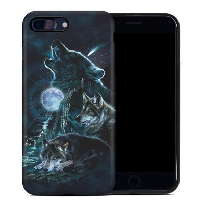 Apple iPhone 7 Plus Hybrid Case - Howling