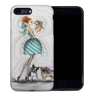 Apple iPhone 7 Plus Hybrid Case - A Kiss for Dot