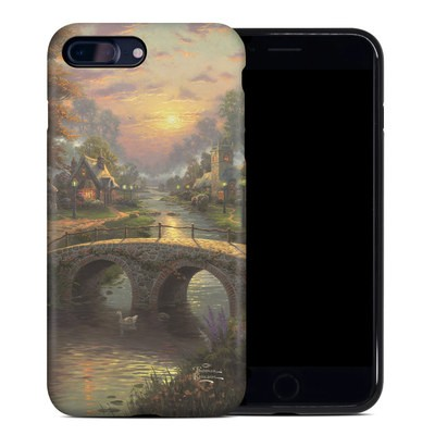 Apple iPhone 7 Plus Hybrid Case - Sunset On Lamplight Lane