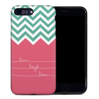 Apple iPhone 7 Plus Hybrid Case - Live Laugh Love