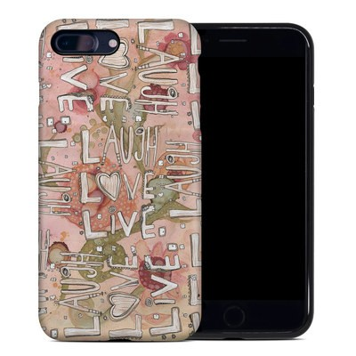 Apple iPhone 7 Plus Hybrid Case - Love Floral