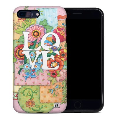 Apple iPhone 7 Plus Hybrid Case - Love And Stitches