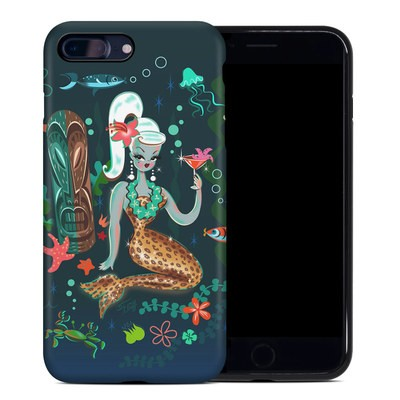 Apple iPhone 7 Plus Hybrid Case - Martini Mermaid