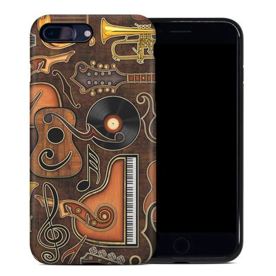 Apple iPhone 7 Plus Hybrid Case - Music Elements