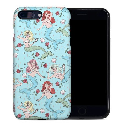 Apple iPhone 7 Plus Hybrid Case - Mermaids and Roses