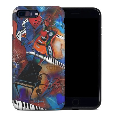 Apple iPhone 7 Plus Hybrid Case - Music Madness