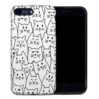 Apple iPhone 7 Plus Hybrid Case - Moody Cats