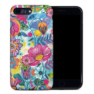 Apple iPhone 7 Plus Hybrid Case - Natural Garden