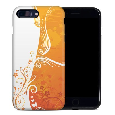 Apple iPhone 7 Plus Hybrid Case - Orange Crush