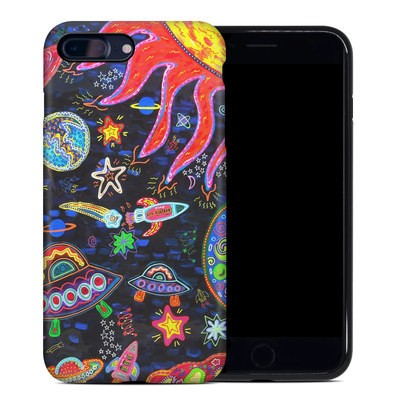 Apple iPhone 7 Plus Hybrid Case - Out to Space
