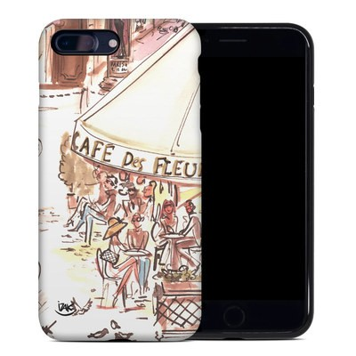 Apple iPhone 7 Plus Hybrid Case - Paris Makes Me Happy