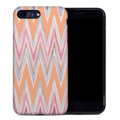 Apple iPhone 7 Plus Hybrid Case - Pastel Chevron