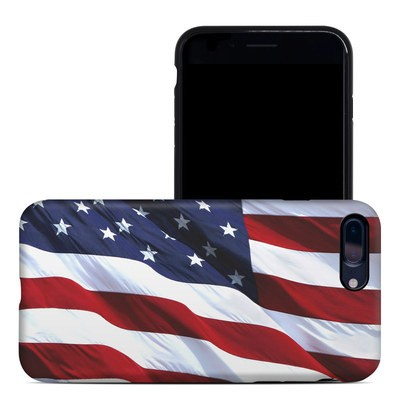 Apple iPhone 7 Plus Hybrid Case - Patriotic