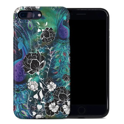 Apple iPhone 7 Plus Hybrid Case - Peacock Garden
