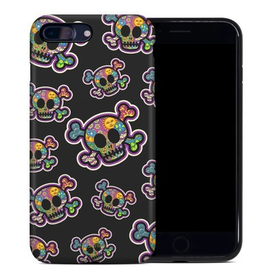 Apple iPhone 7 Plus Hybrid Case - Peace Skulls