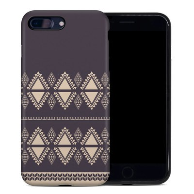 Apple iPhone 7 Plus Hybrid Case - Plum Cozy