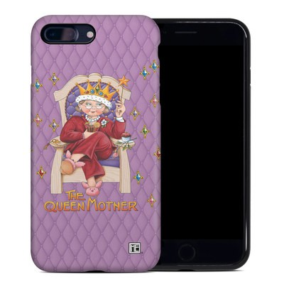 Apple iPhone 7 Plus Hybrid Case - Queen Mother