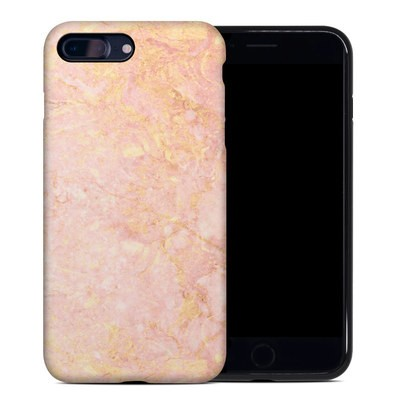 Apple iPhone 7 Plus Hybrid Case - Rose Gold Marble