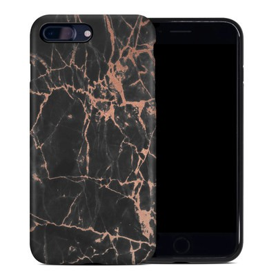 Apple iPhone 7 Plus Hybrid Case - Rose Quartz Marble