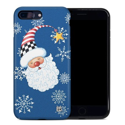 Apple iPhone 7 Plus Hybrid Case - Santa Snowflake