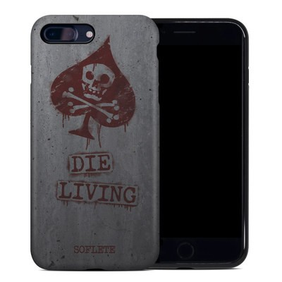 Apple iPhone 7 Plus Hybrid Case - SOFLETE Die Living Bomber