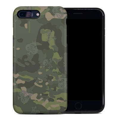 Apple iPhone 7 Plus Hybrid Case - SOFLETE Tropical Multicam