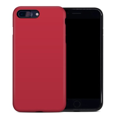 Apple iPhone 7 Plus Hybrid Case - Solid State Red