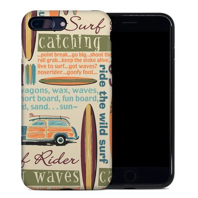 Apple iPhone 7 Plus Hybrid Case - Surf Words