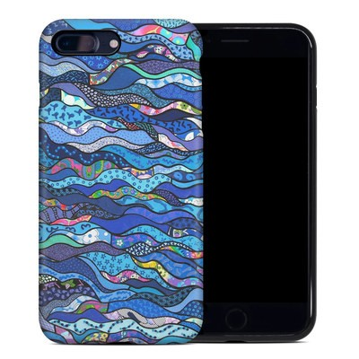 Apple iPhone 7 Plus Hybrid Case - The Blues