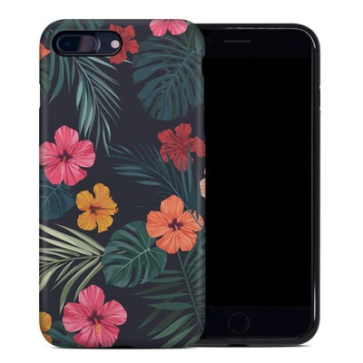 Apple iPhone 7 Plus Hybrid Case - Tropical Hibiscus
