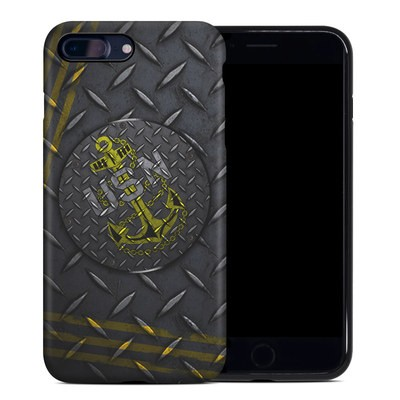 Apple iPhone 7 Plus Hybrid Case - USN Diamond Plate