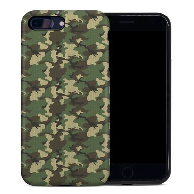 Apple iPhone 7 Plus Hybrid Case - Woodland Camo