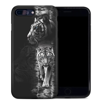 Apple iPhone 7 Plus Hybrid Case - White Tiger